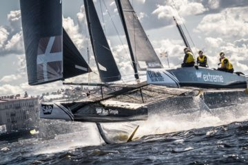 SAP Extreme Sailing Team lead in St Petersburg