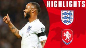 England v Czeck Republic