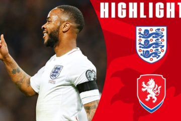 England v Czeck Republic