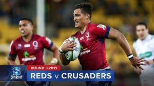 Reds v Crusaders – Super Rugby 2019